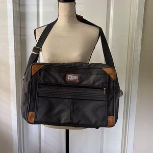 EUC Vintage DVF Collection Laptop Messenger Bag